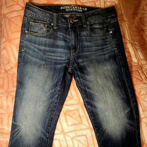 American Eagle Outfitters Jeans - American Eagle regular skinny stretch denim capri